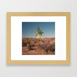 And We Haven't Been Back There Since Then Framed Art Print