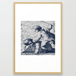 Horseplay Framed Art Print