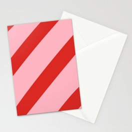 Reddy Stripes Stationery Cards