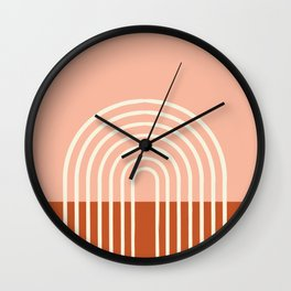 Terracota Pastel Wall Clock