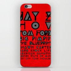 Eye Test - JAY Z iPhone & iPod Skin