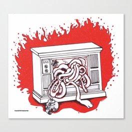 Tribute to the Body Horror of David Cronenberg Canvas Print
