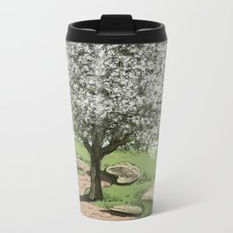 Tree 5 Metal Travel Mug