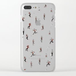 Stripes pattern! Clear iPhone Case