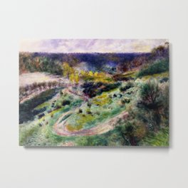 Road at Wargemont Metal Print