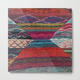 ARTERESTING V45 - Boho Traditional Moroccan Colored Design Metal Print