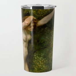 "Gustave Courbet ""Young Bather"" Travel Mug"