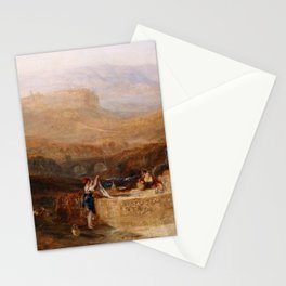 Orvieto J. M. W. Turner Stationery Cards