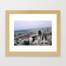 St. Louis from the Arch Framed Art Print