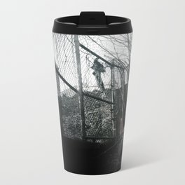 Fence Metal Travel Mug