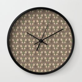 William Morris Pimpernel Wall Clock