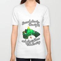 neverland V-neck T-shirts featuring Neverland  by Liana Alvarez