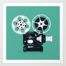 Movie Day Art Print