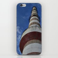 thanos iPhone & iPod Skins featuring tower by Thanos Charisis-Photography