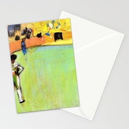Pablo Picasso - Bullfight, Barcelona - Digital Remastered Edition Stationery Cards