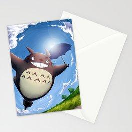 Totoro Summer Flight Stationery Cards