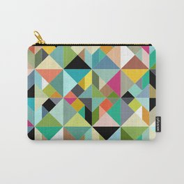 tangram geo multi Carry-All Pouch