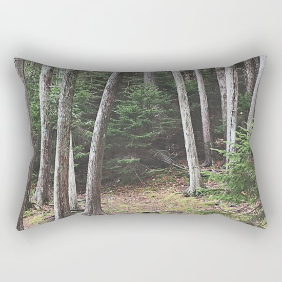 Maine Woods Rectangular Pillow