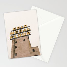 Gold Medal Flour Sign Minneapolis Stationery Cards