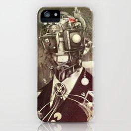 Portrait of nostalgia iPhone Case