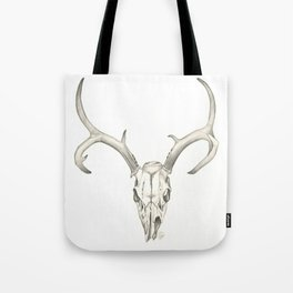 Like a Mirror, Reflecting Bones Tote Bag