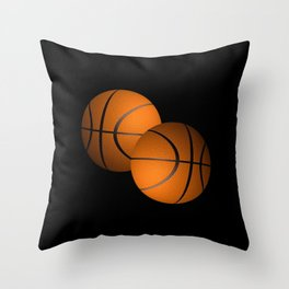 Basketball Sports Design Throw Pillow