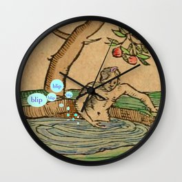 Worlds First Spa! Wall Clock