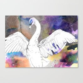 Virgo Swan Canvas Print