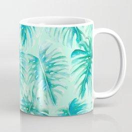 Paradise Palms Mint Coffee Mug