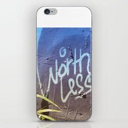 Worthless art iPhone Skin