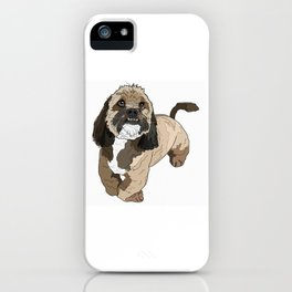 Lhasa Apso Dog iPhone Case