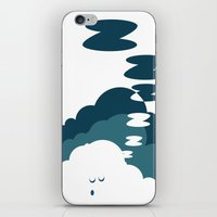cloud iPhone & iPod Skins featuring Cloud by Herber Crispin