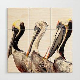Pelican Wood Wall Art