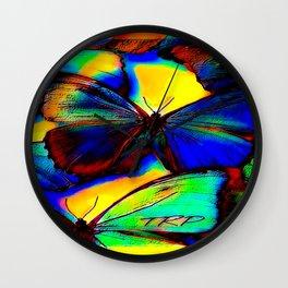 Insect Models: Beautiful Butterflies 07-01 Wall Clock