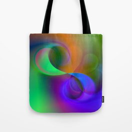 color whirl -32- Tote Bag