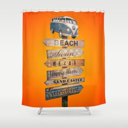 Pura Vida - Desire of summer holidays Shower Curtain