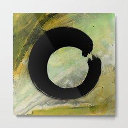 Enso Abstract No. 8F by Kathy Morton Stanion Metal Print
