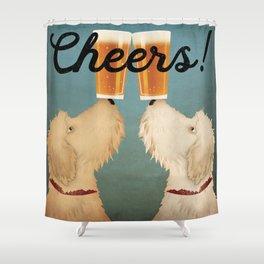 Doodle Goldendoodle Labradoodle Schnoodle Whoodle Beer Dog Shower Curtain