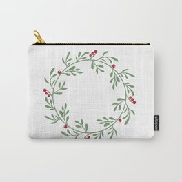 botanical circle frame Carry-All Pouch