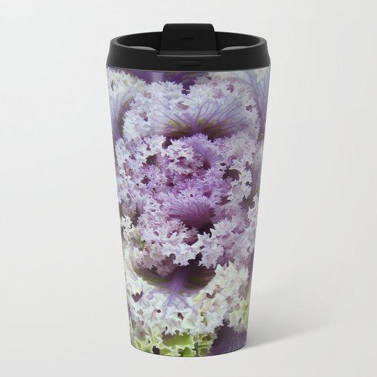 Little Cabbage Metal Travel Mug