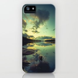 Speaking in silence iPhone Case