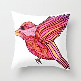 Chickadeedeedee Throw Pillow