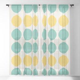 Spots 002 Sheer Curtain