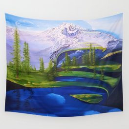 Point Success, Mount Rainier, Seahawks, Seattle, Northwest, NFL, 12thman Wall Tapestry