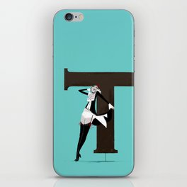 Terry & Copperplate iPhone Skin