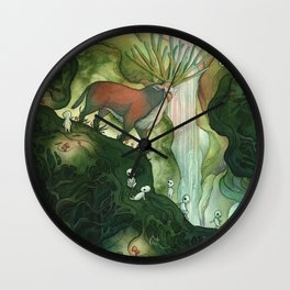He Is Life Itself Wall Clock
