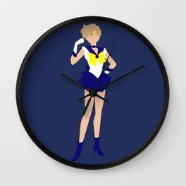 Sailor Uranus (Blue) Wall Clock