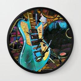 Harmonically Inclined Wall Clock