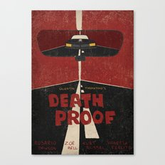 Death Proof Movie Poster Canvas Print