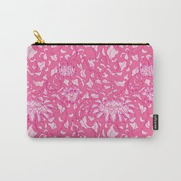 Chinoiserie Vines in Berry + Pink Carry-All Pouch